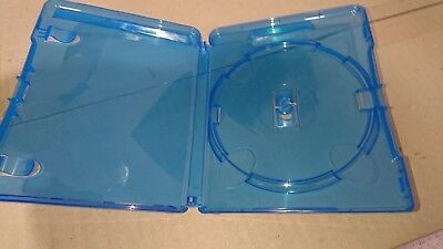 Amaray blu-ray cases - red tag type - Box of 100 - 14mm retail standard size