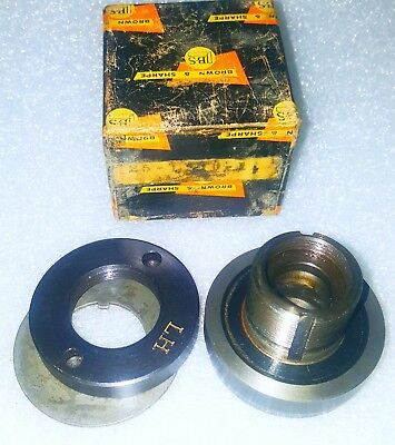 "Brown Sharpe Surface Grinder Wheel Hubs L.H. 3"" 25-1200-1"