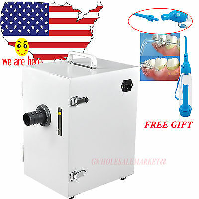 JT-26 rectangular box BENCH TYPE Dental Digital Single-Row Vacuum Dust Collector
