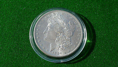 USA  Morgan Dollar 1884  Silber