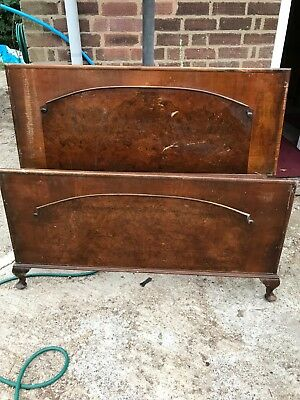 antique Dillon Furniture Manufacturing bed head and base Limited Edition