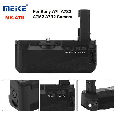 Meike MK-A7II Vertical Battery Grip Holder Auto Focus for Sony A7II A7RII Camera