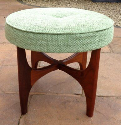 VINTAGE G-PLAN 1970's ASTRO DRESSING TABLE STOOL MID-CENTURY MODERN