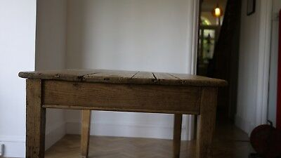 Victorian oak Farmhouse Table - Beautiful waxed wood finish