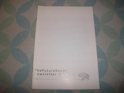 The Futureheads Newsletter  001 Very Rare Promo Item