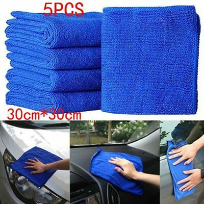 5PCS Cleaning Towels soft Car wash cloth carcleaning Microfiber duster cloth
