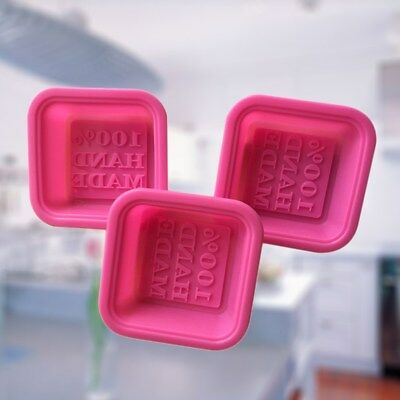 20Pcs Soap Shaped Creative Baking Mold Cake Mould Round Square Oval Cake Mold