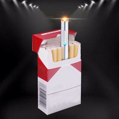 Mini USB Charge Flameless Rechargeable Windproof Electronic Cigarette Lighter AU