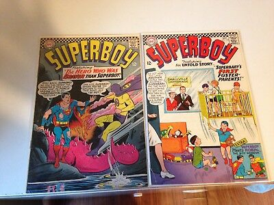 Superboy #132 And 133, Sept 66, Oct 66, Dc Comics