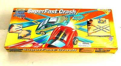 Vintage 1996 Matchbox Lesney Superfast ~ SUPERFAST CRACH - SPEED SYSTEM ~ Boxed