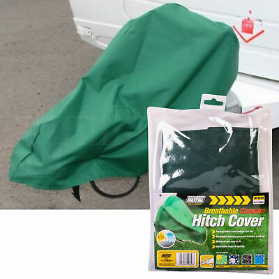 Maypole Universal Breathable Green Hitch Cover Towing Caravan Motorhome
