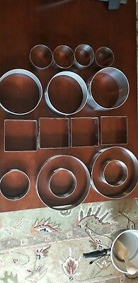 Pastry/cake Ring Lot. 20 Pieces