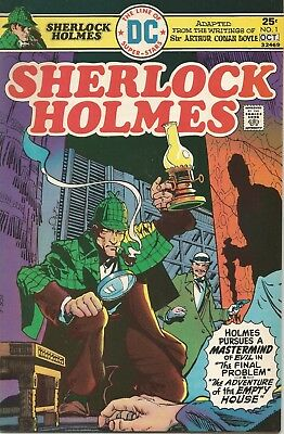 Sherlock Holmes #1 Dc Comics 10/75 Nm- Simonson Cover! O.neil & Cruz Story/art!