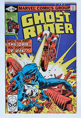 Ghost Rider #54, 1980.. VG/FN.. Please See Picture & Description.