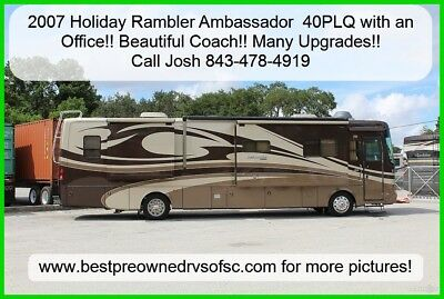 2007 Holiday Rambler Ambassador 40PLQ Diesel with Office!! Used