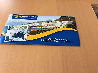 Shearings Holiday Vouchers 5 X £100