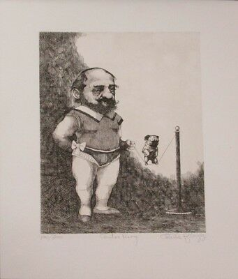 """Fall Special! Limited Edition Etching Print """"Center Ring"""" by Charles Bragg!"""