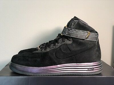 new concept 91886 e6aea NIKE Lunar Force One Lux High BHM QS Size US 11.5   UK 10.5 650719-