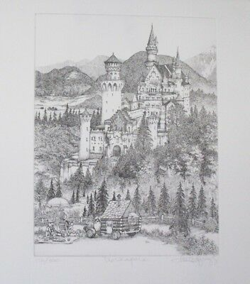 """Fall Special! Limited Ed Etching Print """"The Campers"""" by Charles Bragg!"""