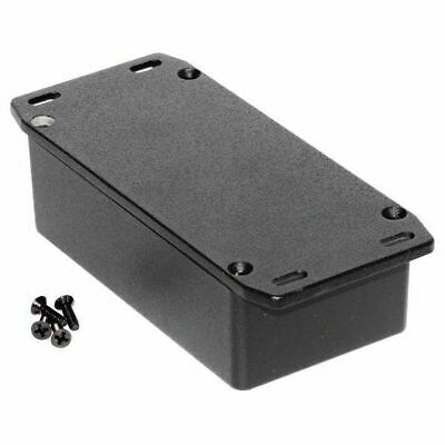 Hammond 1590N1FLBK Diecast Enclosure Flanged Lid Black (121.1 x 66 x 39.3mm)