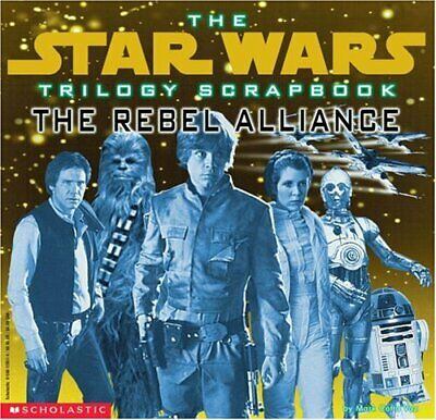 The Rebel Forces (Star Wars Trilogy Scrapbook) by Vaz, Mark Cotta Book The Cheap