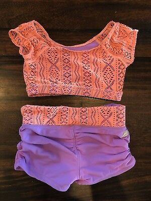 california kisses dancewear - Two Pieces. Excellent Used Condition Child Large