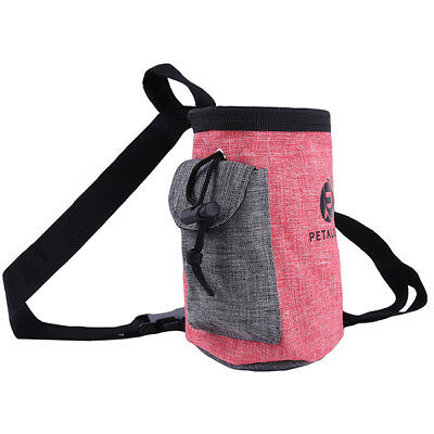Puppy Dog Food Snack Feed Bags Obedience Treat Bait Pouch Training Belt Bag 8C