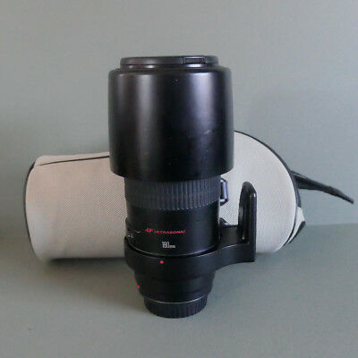 Canon Macro EF 180mm f/3.5 L, including carry case