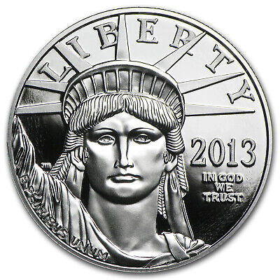 2013-W 1 oz Proof Platinum American Eagle (w/Box & COA) - SKU #73882