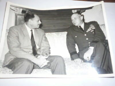 Foto Pakistan General Paul D. Adams U.S. Army 1963 Pressefoto Pakistan AYub Khan
