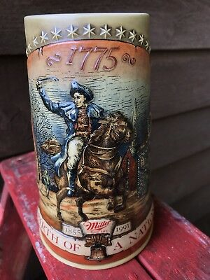 Miller High Life Birth of a Nation stein
