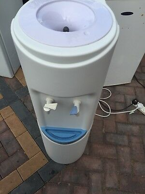 Water Cooler Floor Standing Dispenser White made by Crystal Mountain MOGG2WTW2C
