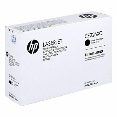 HP 26X Black High Yield Contract Toner Cartridge CF226XC