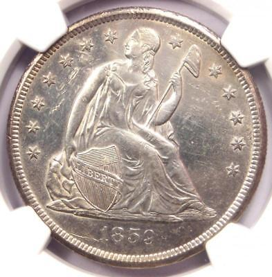 1859-O Seated Liberty Silver Dollar $1 - NGC Uncirculated Detail (UNC MS). Rare!