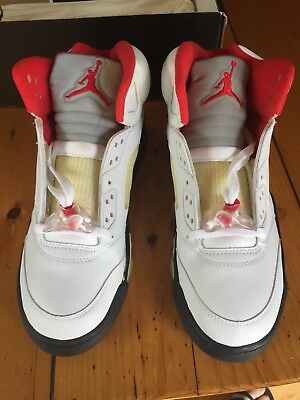 buy popular 8313a fc83a RARE air jordan 5 fire red 1999 2000 Size 9.5 136027 DS Sole Cracking  (