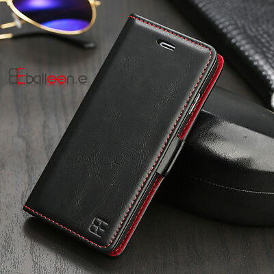 Leather Magnetic Card Wallet Case Flip Cover for iPhone 6 7 8 Plus X XR XS Max