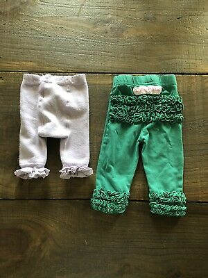 Rufflebutts Legging And Tight Lot 0-6M - Infant/Toddler