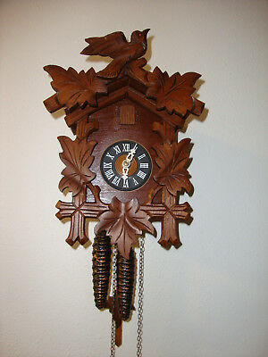 Vintage West Germany German Cuckoo Clock For Parts / Repair / Restoration