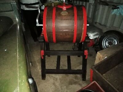 Antique Butter Churn On Stand.vgc.(New Photos)