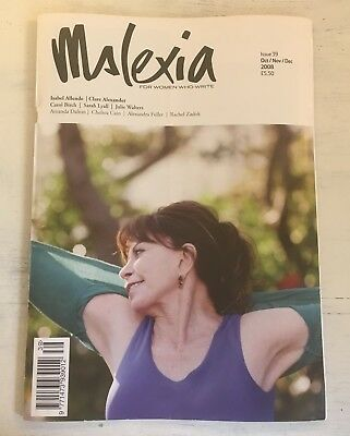 Mslexia magazine, Oct/Nov/Dec 2008, issue 39. Good condition.