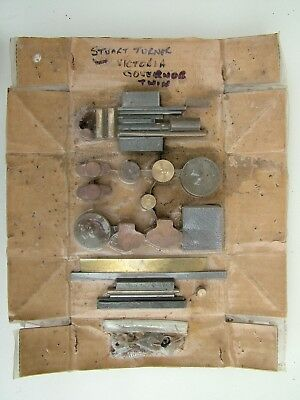 Stuart Victoria Twin Live Steam Engine unmachined Governor castings & materials