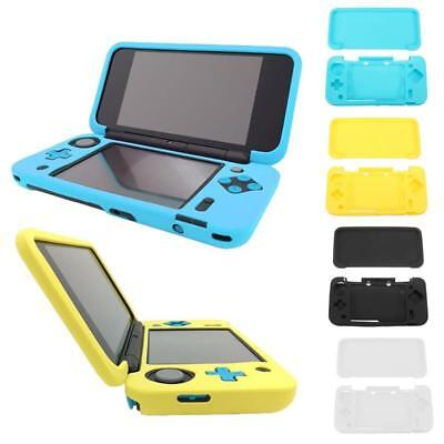Silicone Rubber Gel Console Protective Skin Soft Case Cover Nintendo New 2DS XL