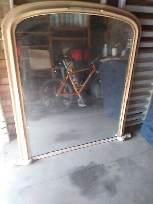 LARGE  wood framed MIRROR. 1150W X 1350H (45 X 53 inches).