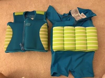 Childrens Float Jacket And Swimming Suit Age 2-3 Years