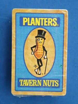 Vintage Advertising Planters Mr Peanut Tavern Nuts Hoyle Playing Cards Unopened