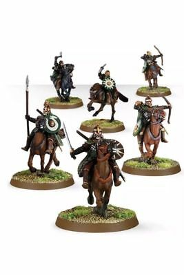 The Lord Of The Rings Battle Of Pelennor Fields Twelve (12) Riders Of Rohan
