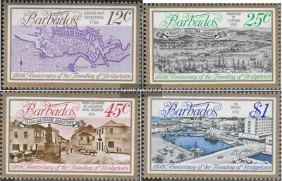 barbados 437-440 (complete issue) unmounted mint / never hinged 1978 Bridgetown