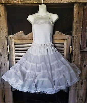 VERY CUTE VTG... country square dancing petticoat lots of layers and ruffles