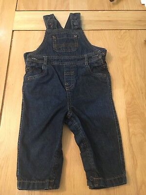M&S 6-9 Months Boy Dungarees