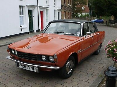1975 Rover P6 2200SC in (glorious) Paprika